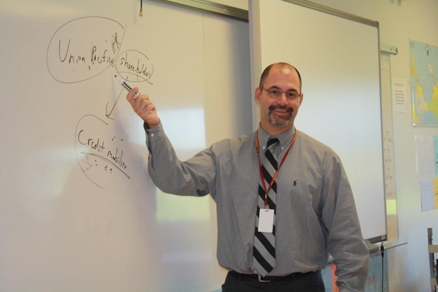 New history teacher, Mr. Bernich