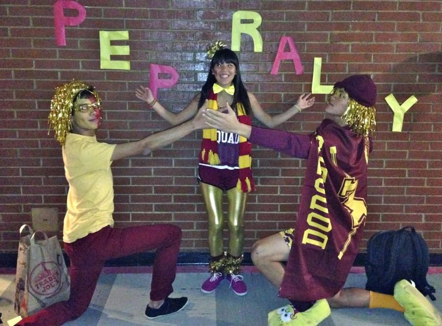 Pep Rally Shows Spirit is Back at MHS!