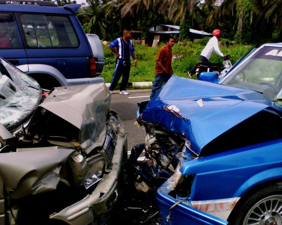 Crash caused by drunk driver