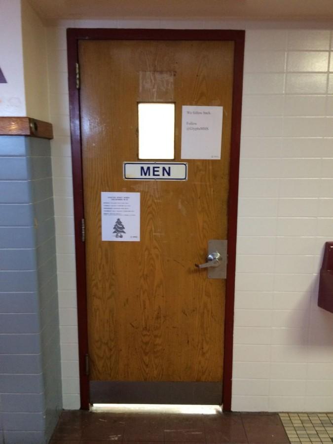 Boys' Bathroom at MHS