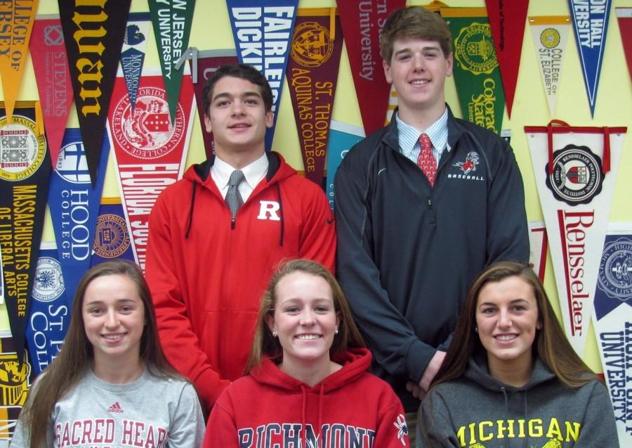 Madison Students Commit to Division One Schools