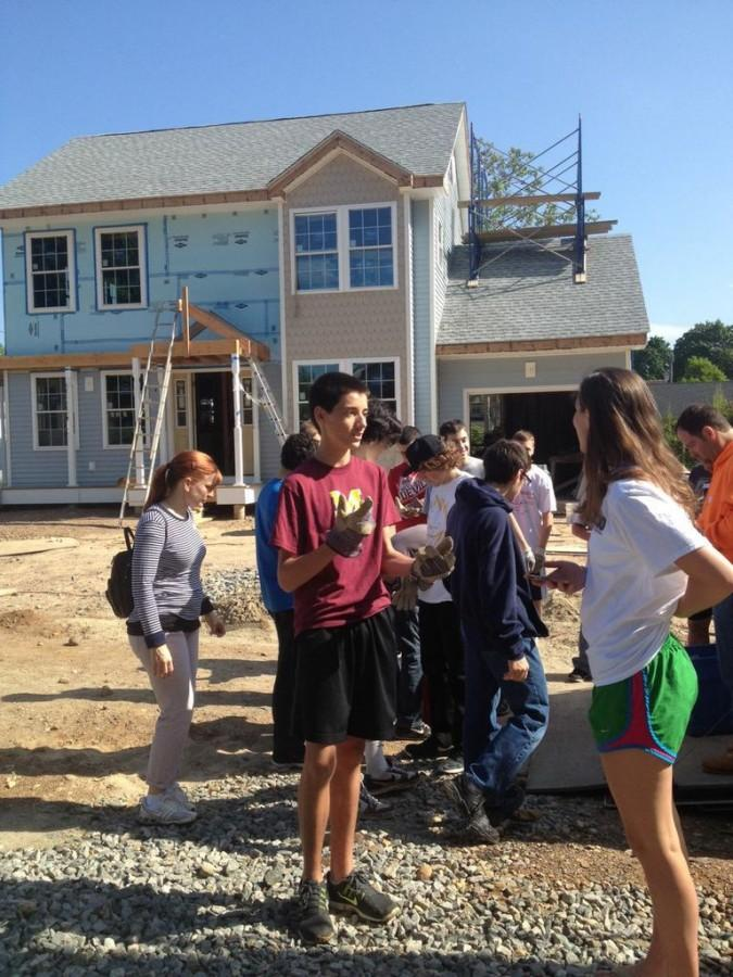 MDO Students spent DOS 2014 interviewing students at their sites, including Lucas Glynn at the Habitat for Humanity site.