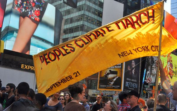Climate March in NYC