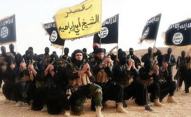 ISIS militants.