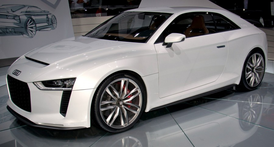 Audi makin' strides.