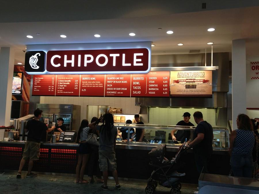 Chipotle for no GMOs, even though they're really not that bad for you.