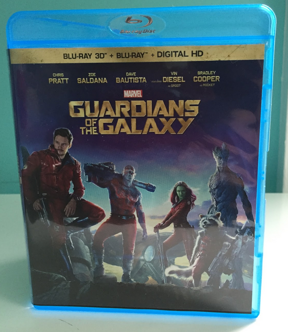 Guardians of the Galaxy Movie Cover