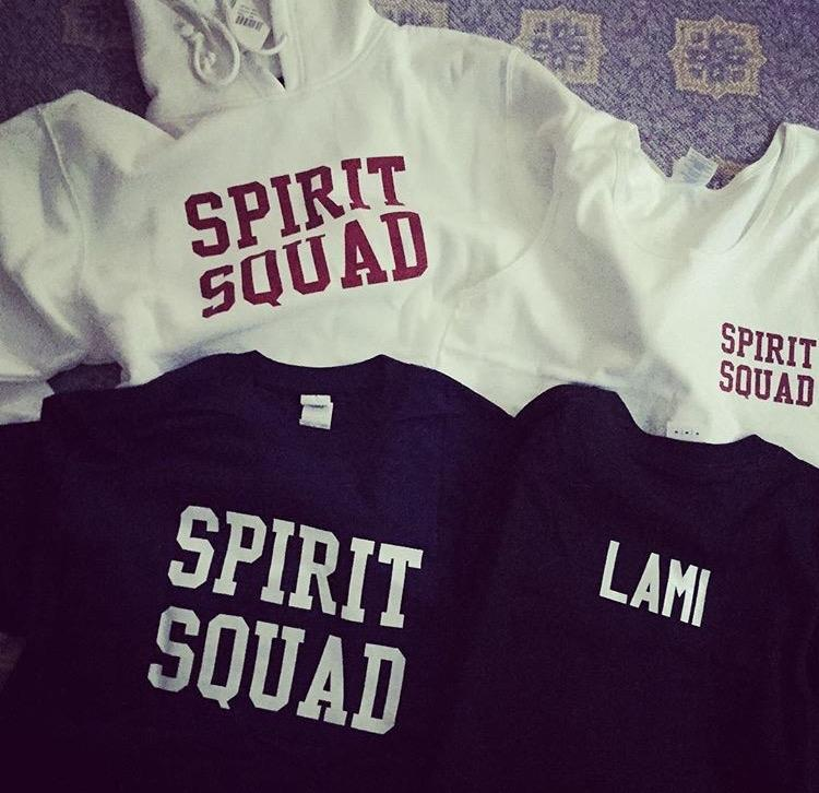 Spirit Squad Apparel