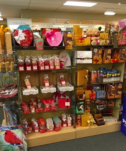 Selection of Valentine's gifts