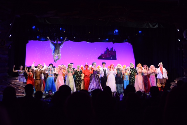 Cast of Madison High School's production of The Little Mermaid
