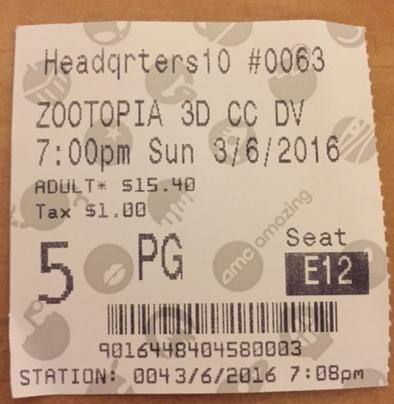 Zootopia is worth the ticket price.