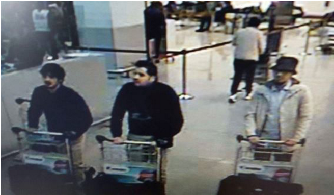 3 Brussels bombing suspects