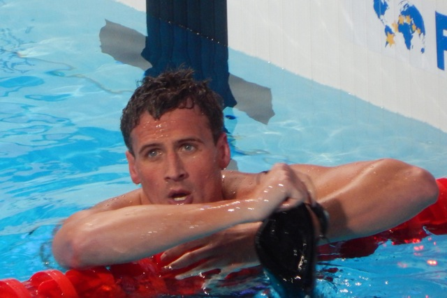 Olympic swimmer Ryan Lochte is now participating in ¨Dancing with the Stars¨