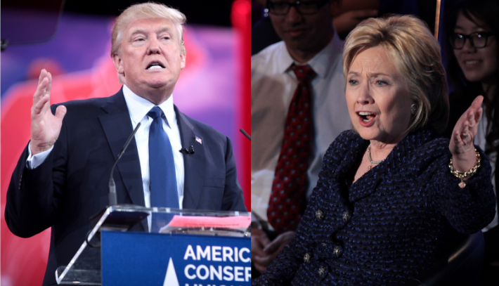 Trump and Clinton faced-off this Monday at Hofstra University