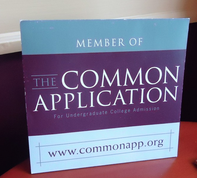 The Common Application is currently causing many seniors strife