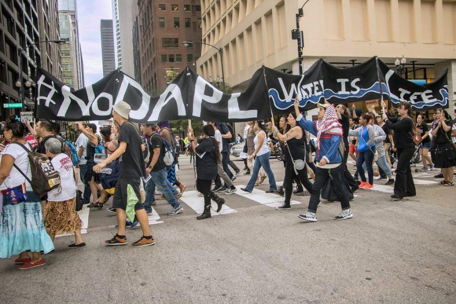 Protesters of the Dakota Access Pipeline