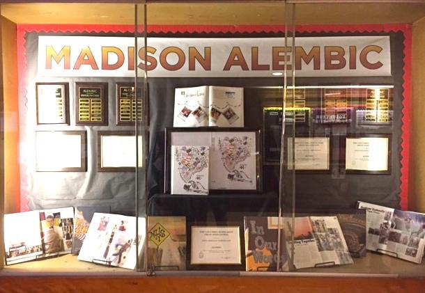 Madison High School's Alembic yearbooks and awards