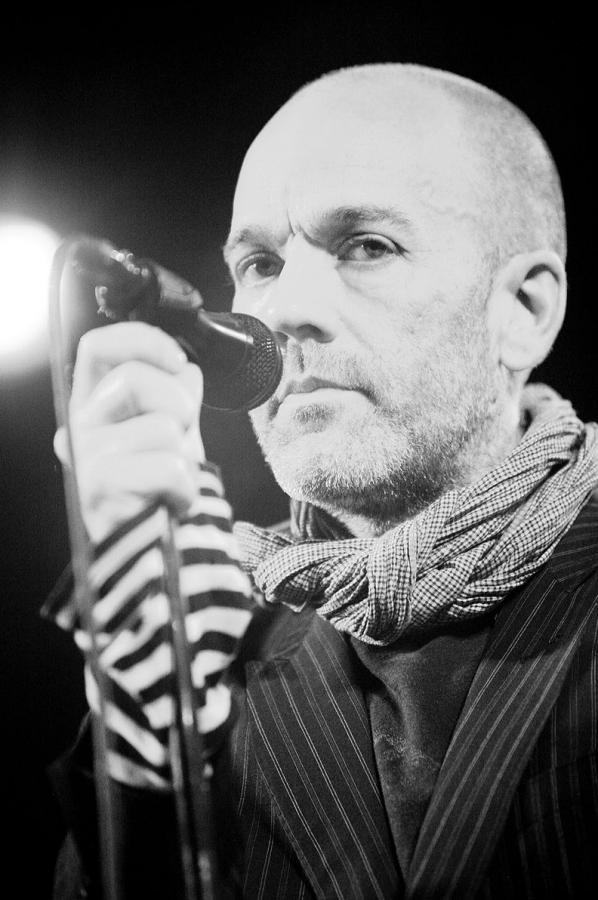 Michael Stipe of R.E.M has been quite vocal in his disapproval of Donald Trump