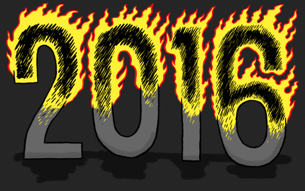 2016 in flames
