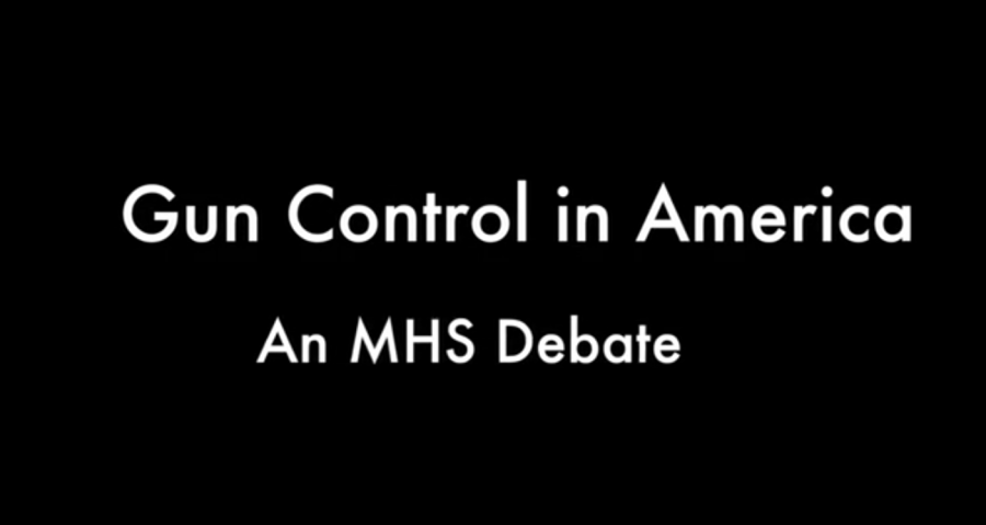 MHS Debate: Gun Control in America