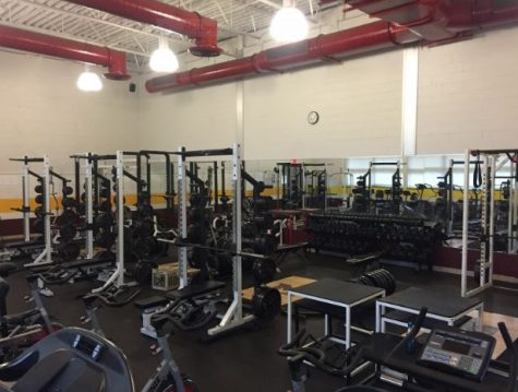 MHS weight room