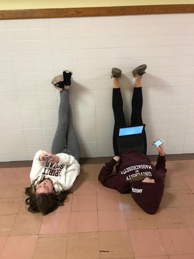 Seniors hard at work