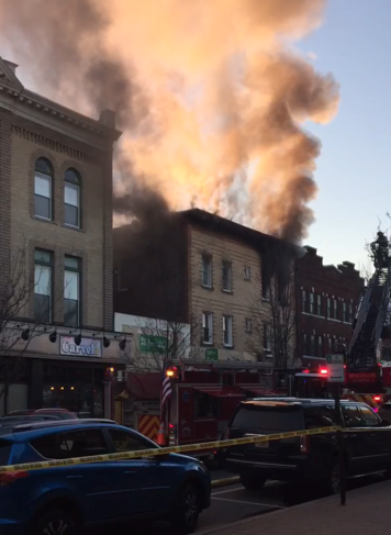 Downtown Madison fire blazed last Sunday