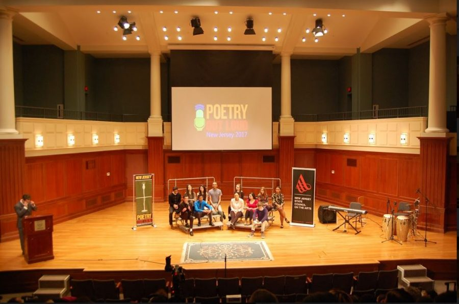 Poetry Out Loud State Finals at TCNJ