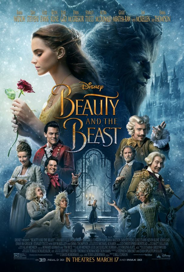 The new Beauty and the Beast poster.