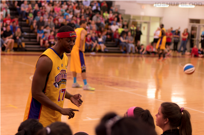 Harlem Wizards at MHS