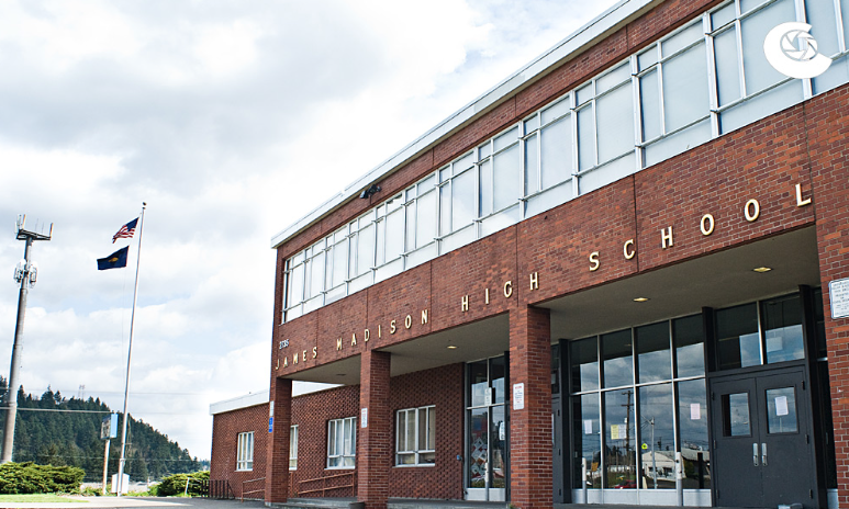 Madison High School in Portland, OR. Possibly a source of confusion, Ian?
