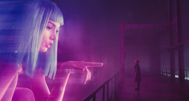 Image of Ryan Gosling and Anna De Armas in Blade Runner 2049