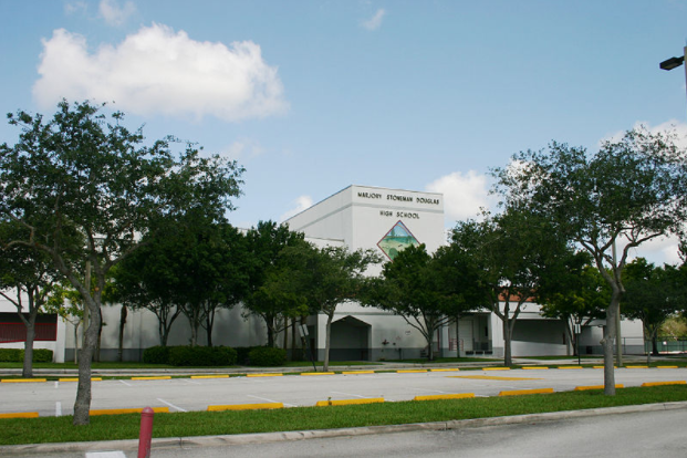 Marjory Stoneman Douglas High School, site of the dreadful shooting.