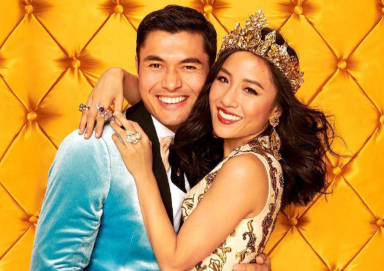Movie co-stars Henry Golding and Constance Wu (Google Common License)
