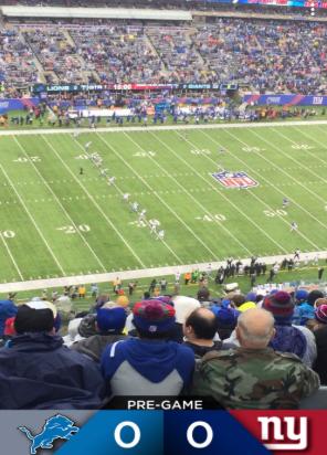 Giants vs Lions