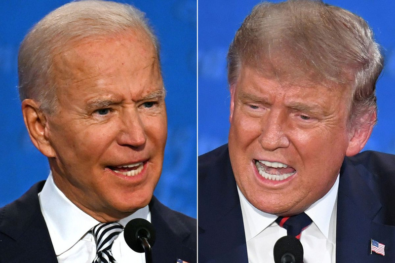First 100 Days: Donald Trump vs. Joe Biden